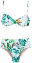 Lygia & Nanny - Veronica printed bikini set - women - Polyamide/Spandex/Elastane - 40, 42, 44, 46 - Verde