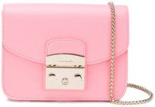 Furla - mini Metropolis bag - women - Leather - One Size - PINK & PURPLE
