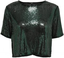 ONLY Sequins Short Sleeved Top Women Green