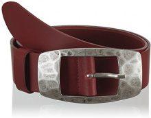 MGM Cordula, Cintura da donna, rosso (dunkelrot 2), 95 cm