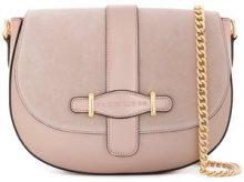 Marc Ellis - Megan shoulder bag - women - Leather - One Size - PINK & PURPLE
