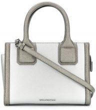 Karl Lagerfeld - Klassik mini tote - women - Leather - One Size - GREY