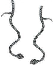 Federica Tosi - Orecchini con serpente - women - Brass - OS - METALLIC