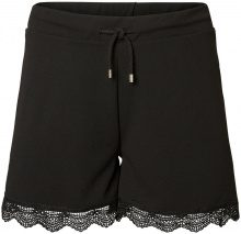 JUNAROSE Lace Shorts Women Black