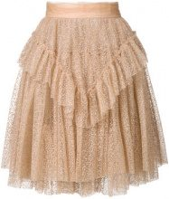 Dsquared2 - layered tulle skirt - women - Polyamide/Polyester/Viscose - 38, 40, 42 - Color carne & neutri