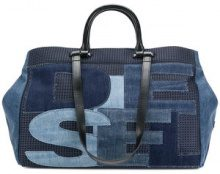Diesel - All You Can Carry tote - women - Cotton/Polyester - One Size - BLUE