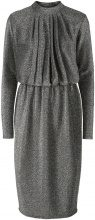 Y.A.S Glitter Party Dress Women Grey