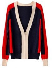 Gilet color-block cerniera