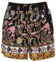 Shorts con fiori & farfalle