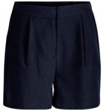 Y.A.S Normal Waisted Shorts Women Blue