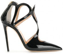 Racine Carree - Pumps con dettaglio cut-out - women - Leather - 36, 37, 37.5, 38, 38.5, 39, 40 - BLACK