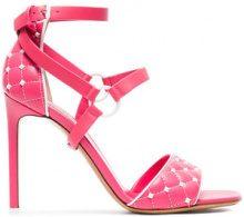 Valentino - Sandali 'Rockstud Spike' - women - Leather - 35.5, 36, 37, 37.5, 38, 39, 39.5, 40, 41 - PINK & PURPLE