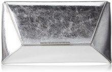 4101030 - Pochette da giorno Donna, Argento (Silber (Silver)), 1.0x17.0x30.0 cm (B x H T)