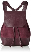 Royal Republiq Bucket Petite Suede - Zaini Donna, Rot (Bordeaux), 11x26x20 cm (B x H T)