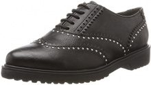 MARCO TOZZI 23735, Brogue Donna, Nero (Black Antic), 39 EU