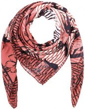 Tom Tailor Flower Square Scarf, Cappello in Felto Donna, Rosa (Dark Dusty Rose 5455), Taglia unica