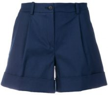 P.A.R.O.S.H. - Shorts con cintura - women - Cotone/Spandex/Elastane - XS - BLUE