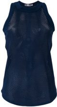 Adidas By Stella Mccartney - Canotta 'Yoga Touch' - women - Nylon/Spandex/Elastane - XXS, M - BLUE