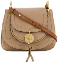 See By Chloé - Susie small shoulder bag - women - Calf Leather/Cotone - OS - BROWN
