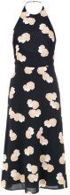 Andrea Marques - mushroom print A-line dress - women - Viscose - 38 - Nero
