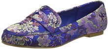 New Look Jeronimo, Mocassini Donna, Blu (Blue Pattern), 38 EU