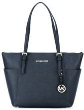 Michael Kors Collection - Jet Set Top-Zip tote - women - Calf Leather - One Size - BLUE
