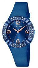 Calypso-Orologio da donna al quarzo con Display analogico e cinturino in plastica, colore: blu, K5659/6