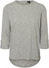 VERO MODA Casual 3/4 Sleeved Blouse Women Grey