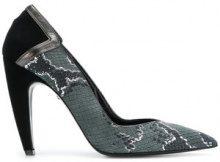 Just Cavalli - Pumps effetto serpente - women - Leather/Calf Suede - 37, 40, 41 - GREY