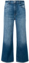 J Brand - cropped flared jeans - women - Cotton - 25, 26, 27, 28, 29, 30, 31, 24 - BLUE