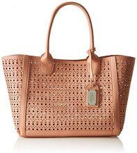 Buffalo Bag 601959 Leather PU, Borsa con Maniglia Donna, Rosa (Pink 01), 17x25x34 cm (B x H x T)