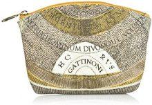 Gattinoni Gacpu0000144, Pochette da Giorno Donna, Beige (Deserto), 6x15x21 cm (W x H x L)