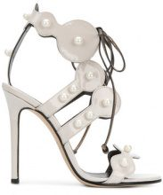 Marc Ellis - Sandali decorati - women - Leather/Patent Leather - 36, 37, 38, 39, 40 - WHITE