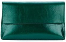 Christian Wijnants - Clutch grande - women - Cotone/Leather - One Size - Verde