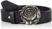 MGM Rosalie, Cintura Donna, Nero (Schwarz 01), 90 cm