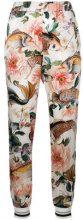 Shirtaporter - Pantaloni aderenti - women - Silk/Spandex/Elastane - 42, 46 - Bianco