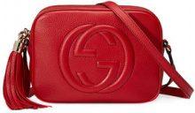 Gucci - Borsa a spalla 'Soho disco' - women - Cotone/Leather - One Size - RED