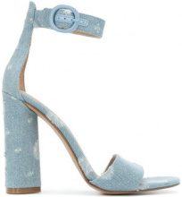 Kendall+Kylie - Sandali in denim - women - Cotone/rubber - 6.5, 9, 5, 8.5, 9.5 - BLUE