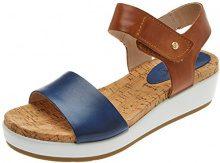 Pikolinos Mykonos W1g, Sandali con Cinturino alla Caviglia Donna, Blu (Royal Blue), 40 EU