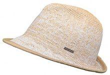 CaPO Ibiza Color HAT, Cappelli da Sole Donna, Weiß (Ecru 2), Taglia unica