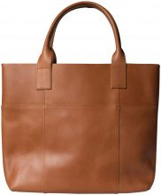 PIECES Leather Shoulder Bag Women Beige