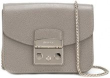 Furla - Borsa tracolla 'Metropolis' - women - Leather - One Size - GREY