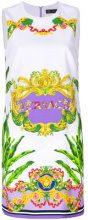 Versace - Abito stampato - women - Silk/Acetate/Viscose - 36, 38, 42, 44, 48, 40, 46 - PINK & PURPLE