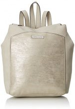 Tamaris Elsa Backpack - Borse a zainetto Donna, Beige (Pepper Comb), 7x30x34 cm (B x H T)