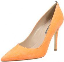 SJP by Sarah Jessica Parker Fawn, Scarpe con Tacco Donna, Arancione (Creamsicle Orange Suede), 35 EU