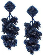 Sachin & Babi - Grapes earrings - women - glass - OS - Blu
