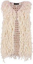 Cindy Knitted Fringe Gilet