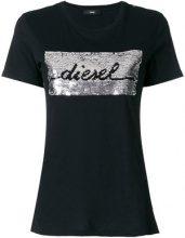 Diesel - T-shirt 'T-Sily-I' - women - Cotton - S, M - BLACK
