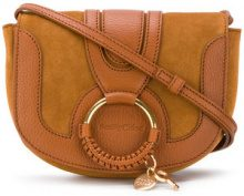 See By Chloé - Hana small bag - women - Cotton/Calf Leather/Goat Skin - One Size - BROWN