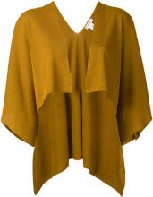 Jucca - Mantella con apertura frontale - women - Viscose/Polyester - XS, S - YELLOW & ORANGE